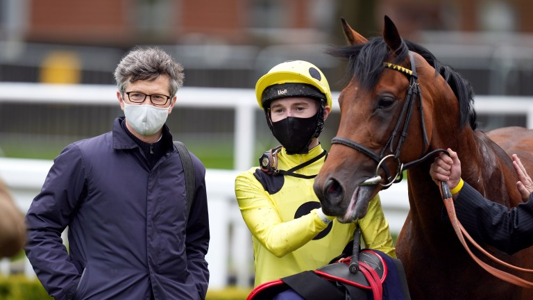 Roger Varian: has been in fine form in the Derby trials this season