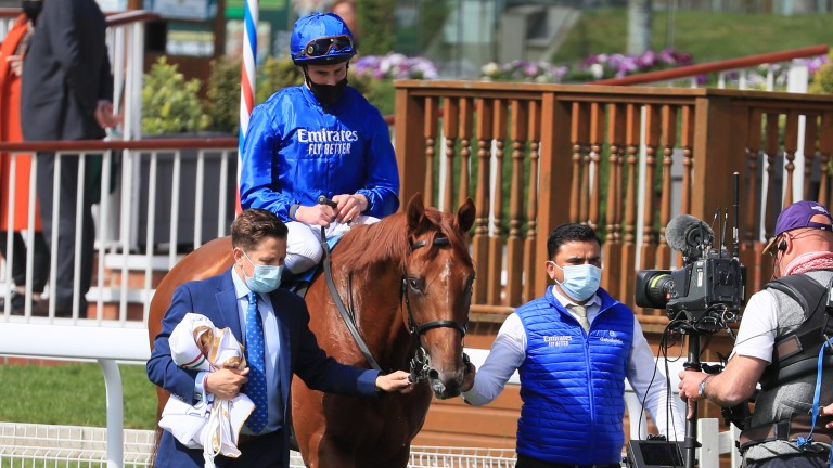 Hurricane Lane: out of the Shirocco mare Gale Force, a half-sister to British Champions Fillies & Mares Stakes heroine Seal Of Approval
