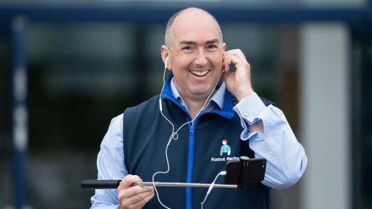 Dan Abraham of Foxtrot Racing, owner of triple GBB bonus winner Anythingforlove