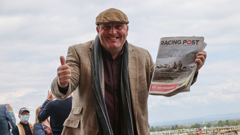 Racegoers are back on track, with Carlisle one of the first courses able to welcome crowds