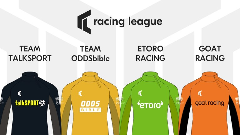Four of the Racing League's team sponsors have been unveiled