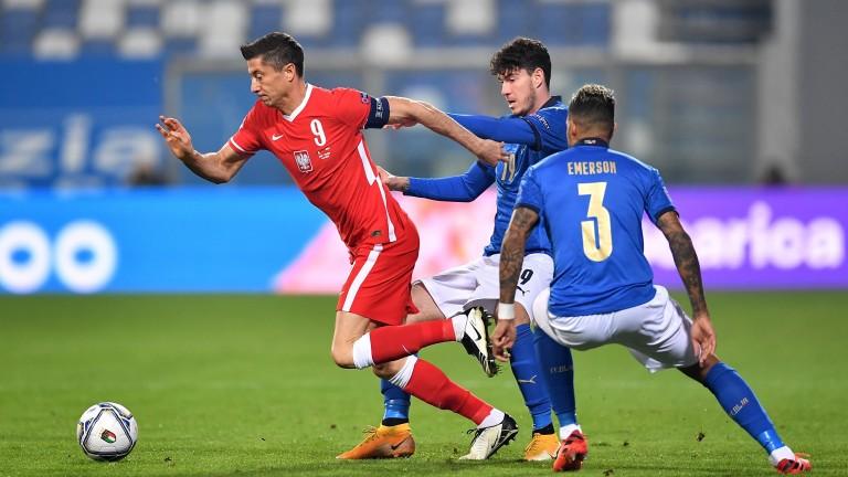 Poland are very reliant on their star striker Robert Lewandowski