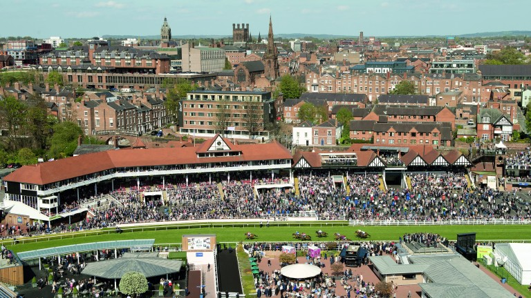 Chester's Roodee, set in the heart of the city, has legitimate claims to be Britain's oldest racecourse