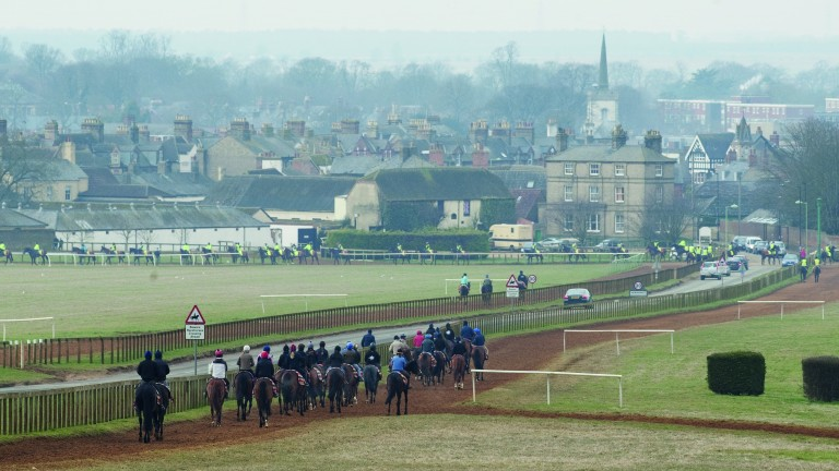 Newmarket's place as the headquarters of British Flat racing was established in the reign of James I