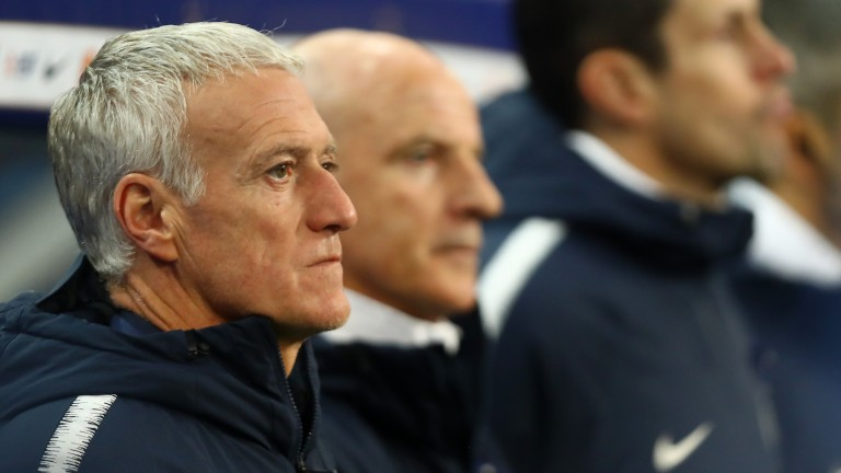 Didier Deschamps will hope to build on France's World Cup win three years ago
