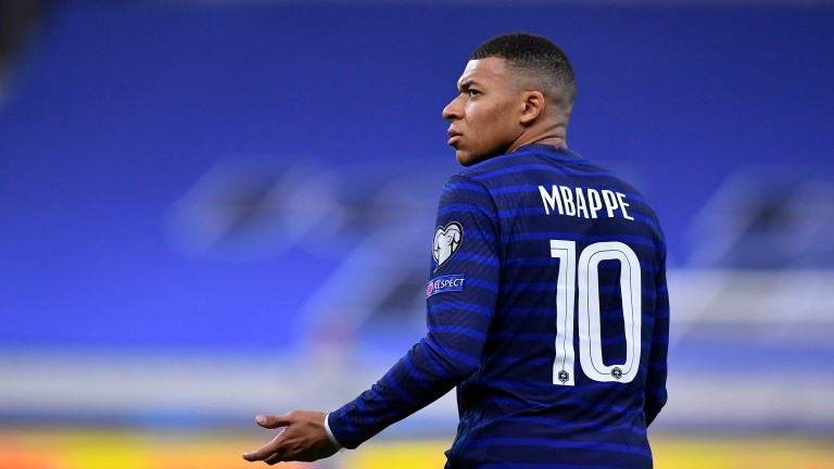 Kylian Mbappe will lead France's charge at Euro 2020