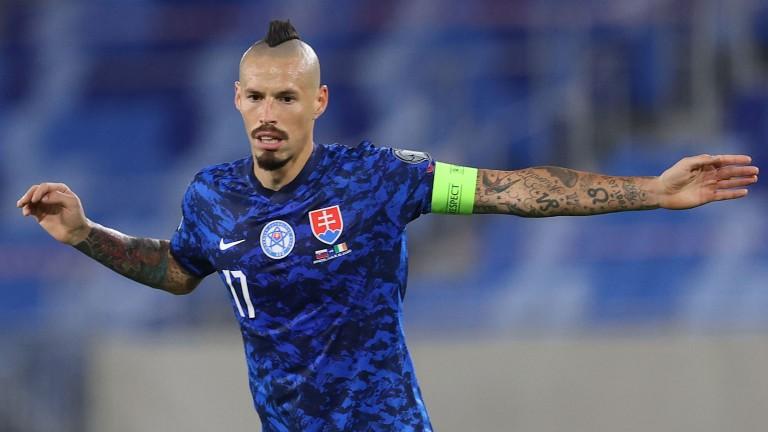 Slovakia still rely heavily on midfield mastermind Marek Hamsik