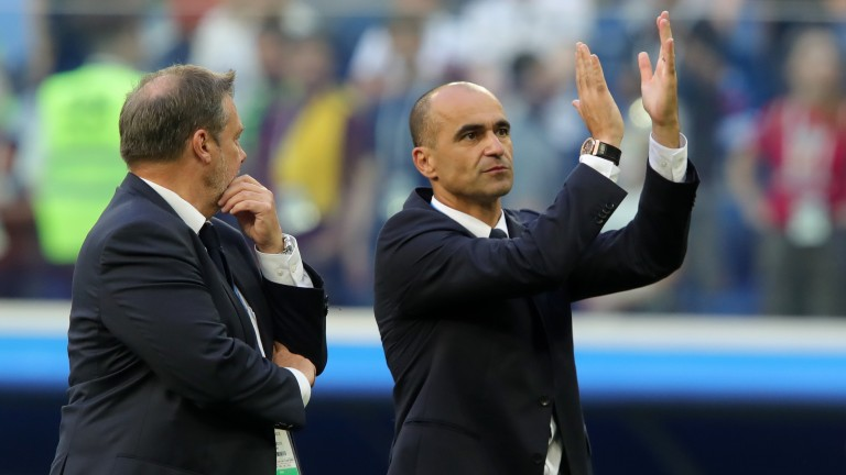 Roberto Martinez led Belgium to a third-placed finish at the 2018 World Cup