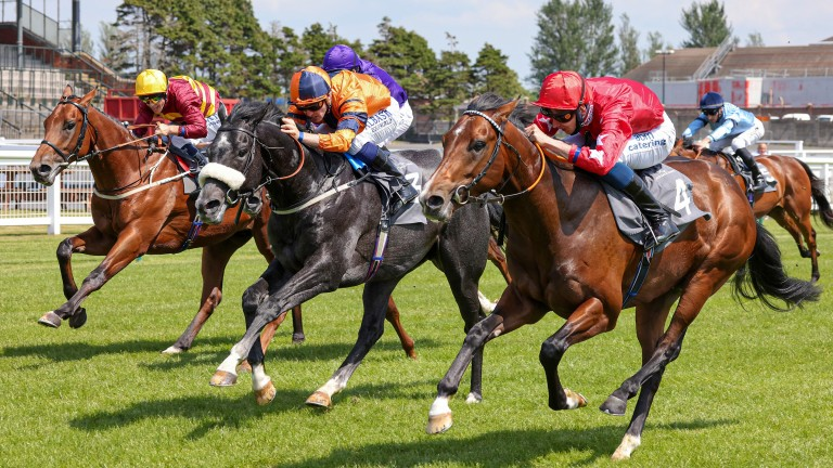 Red Power (red silks): pounces under Alistair Rawlinson