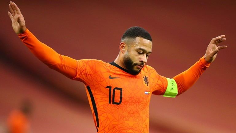 Memphis Depay can dazzle in the final third for the Netherlands team