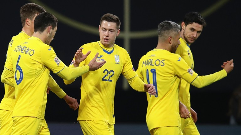 Ukraine could be celebrating a spot in the knockout stages