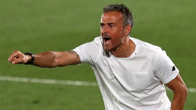 Spain manager Luis Enrique