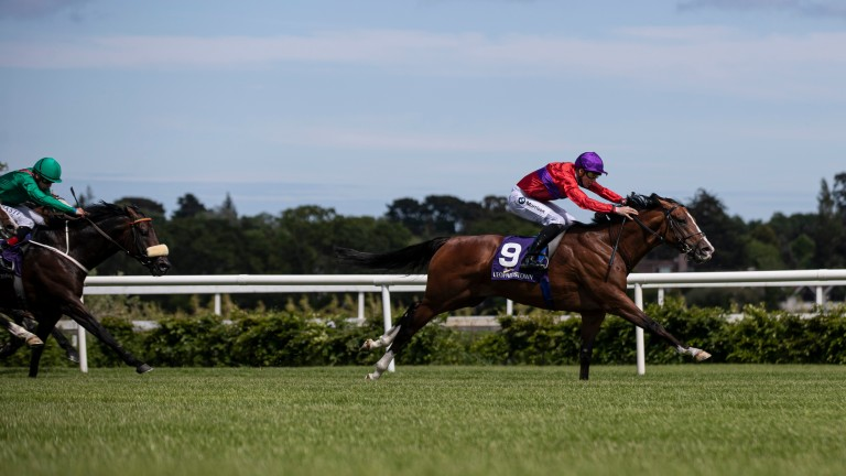 Magnanimous scoots away from his rivals to win the Glencairn Stakes