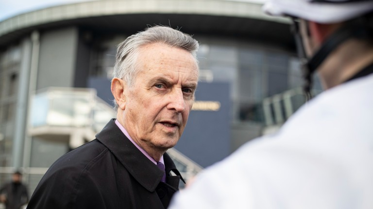 Jim Bolger: serious allegations about doping in Irish racing