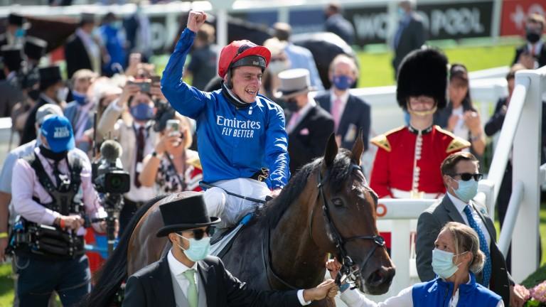 Adayar: Godolphin's second homebred Derby winner
