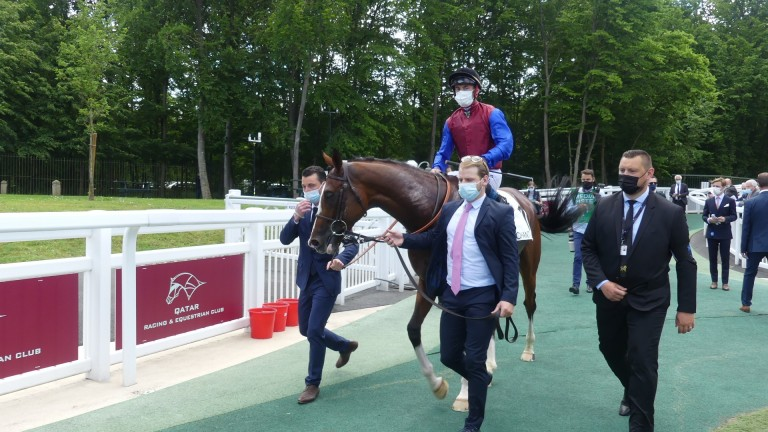 In Swoop returns after a hard-fought success in the Grand Prix de Chantilly