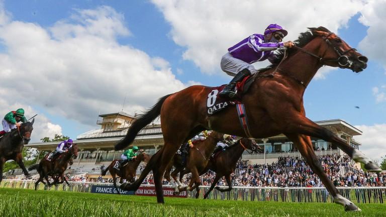 St Mark's Basilica and Ioritz Mendizabal streak to victory in the Qatar Prix du Jockey Club at Chantilly