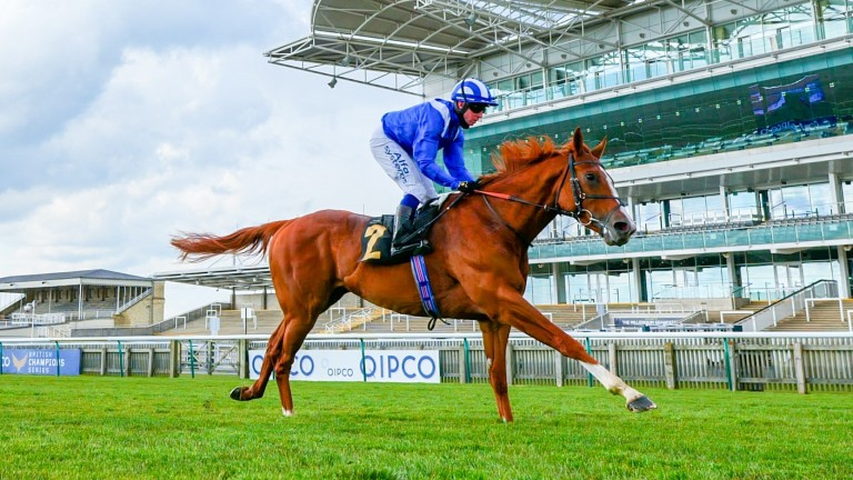 Mohaafeth: impressive Newmarket winner was a late withdrawal from the Derby