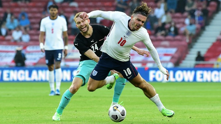 England's Jack Grealish is hoping for a start against Croatia