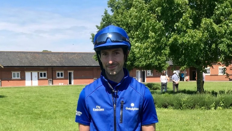 Josh Crane: Adayar's work-rider has ambitions to fly for Emirates airline