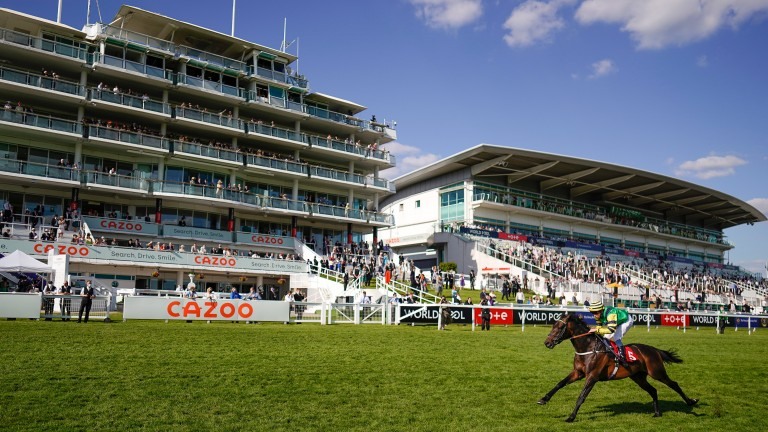 William Buick steers Midnights Legacy to a Derby Day victory at Epsom