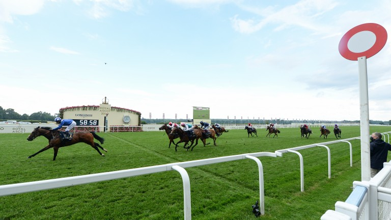 Battaash runs out a clear-cut winner of last year's King's Stand Stakes at Royal Ascot