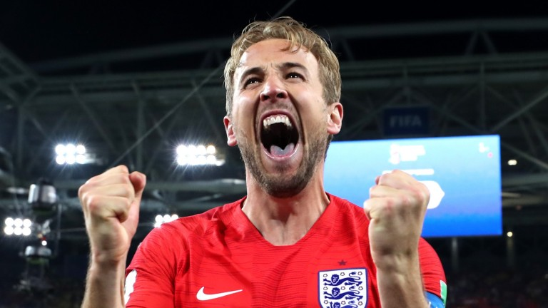 England's Harry Kane scored six goals at the 2018 World Cup
