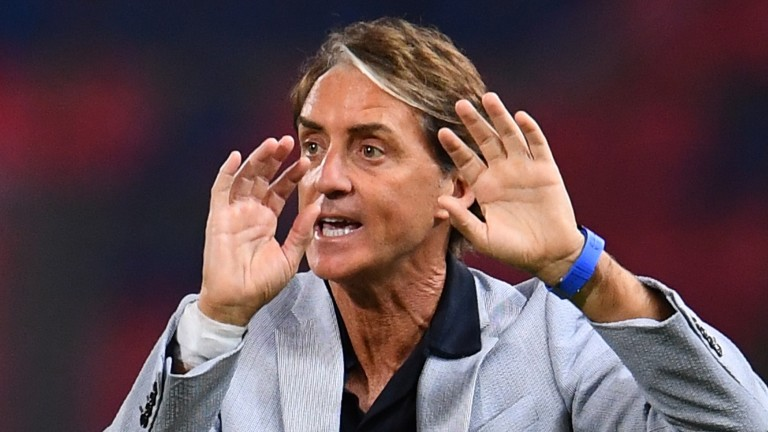 Roberto Mancini's Italy are unbeaten in their last 27 matches