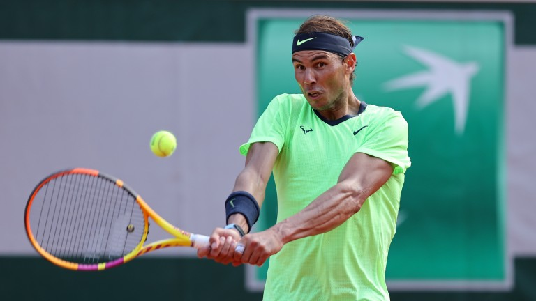 Rafael Nadal dropped his first set of this year's tournament against Diego Schwartzman but the Spaniard still dominated the Argentinian in their quarter-final clash