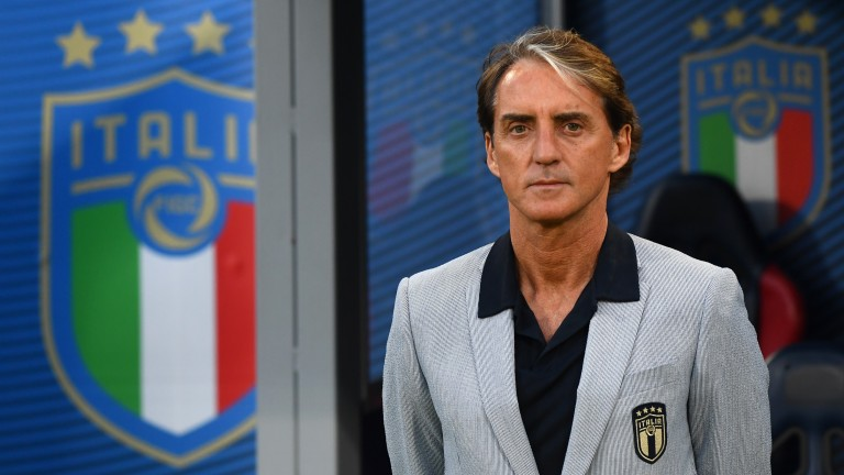 Roberto Mancini's Italy take on Belgium in the quarter-finals