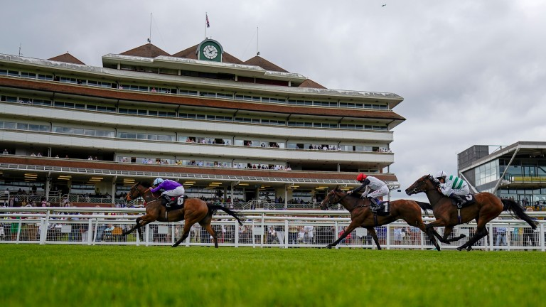 Seattle Rock comes home in front by two lengths at Newbury