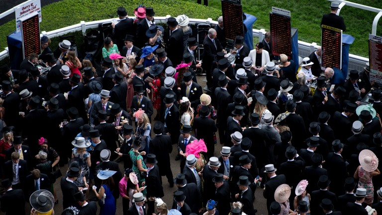 On-course bookmakers reported Royal Ascot week to be tough going