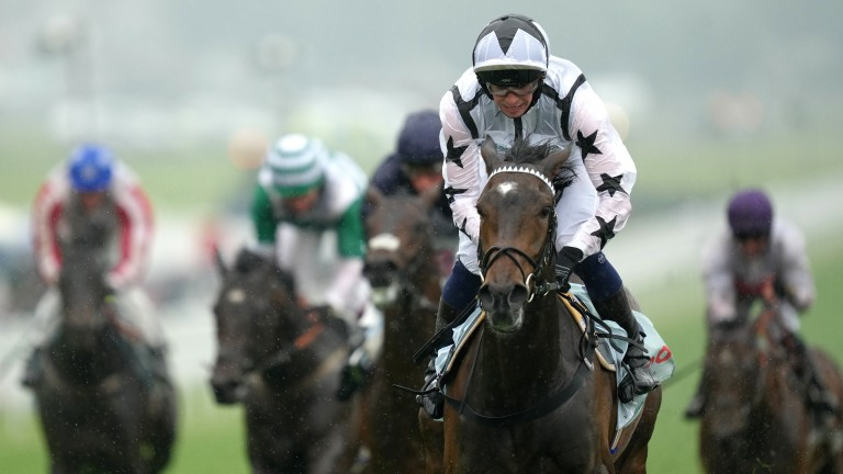 Oscula won the Woodcote at Epsom for George Boughey