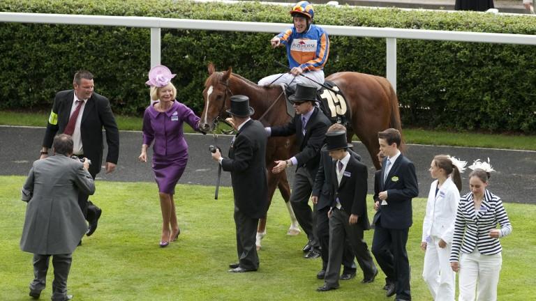 Starspangledbanner returns victorious after the 2010 Golden Jubilee