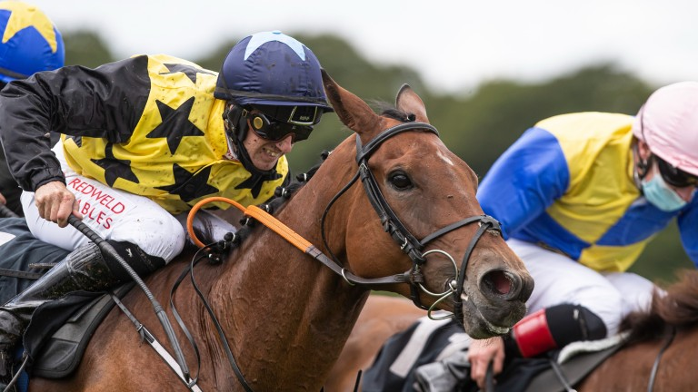 Aprils Joy: versatile mare recorded her second win over hurdles on Sunday