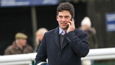 """Oliver Greenall: """"The main aim is to go hurdling with him and although he's not the biggest he looks like a tough staying horse who likes soft ground"""""""