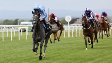 Verreaux Eagle and Kevin Stott win at Carlisle  14/6/21Photograph by Grossick Racing Photography 0771 046 1723
