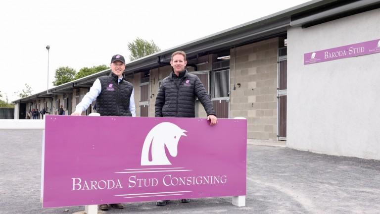 Padraic Gahan and David Cox of Baroda Stud