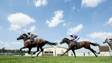 Palace Pier and Frankie Dettori win the Queen Anne StakesAscot 15.6.21 Pic: Edward Whitaker/Racing Post