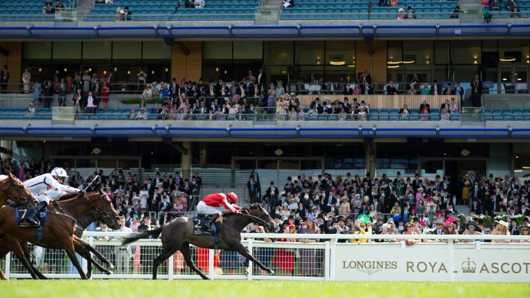 Berkshire Shadow wins the Coventry Stakes