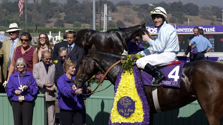 Islington after her Breeders' Cup triumph