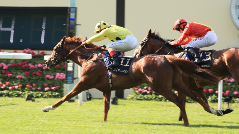 Juan Elcano could be booked for better things after success under Andrea Atzeni in the Wolferton Stakes
