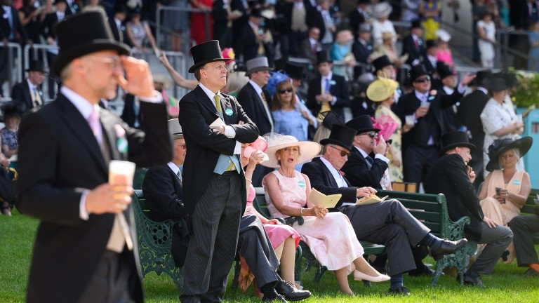 10,000 spectators per day were on hand at Royal Ascot