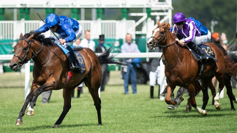 Kemari comes good under William Buick in the Queen's Vase Stakes