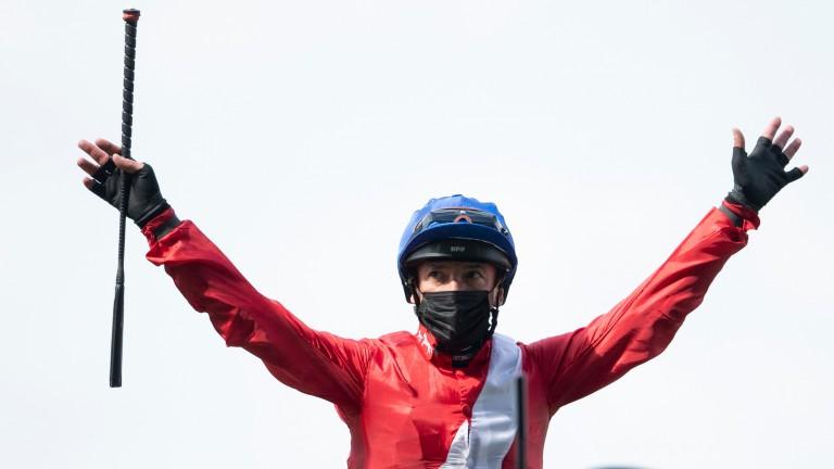 Frankie Dettori: world-class jockey recorded his 75th Royal Ascot winner on Wednesday