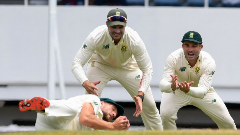 South Africa's excellent slip catching helped them win the first Test