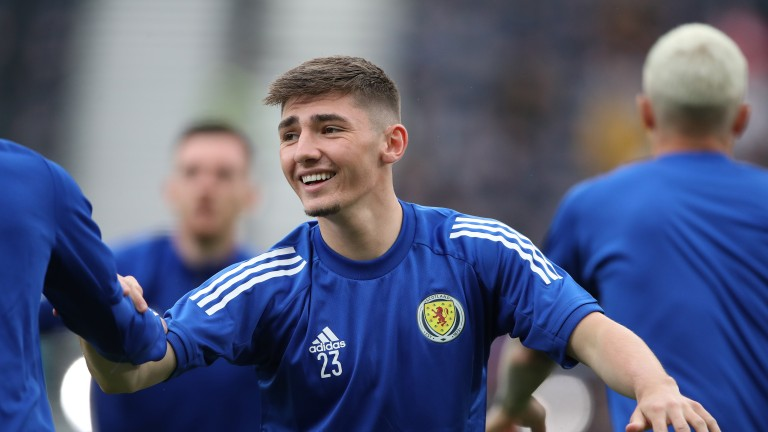Charlie Adam hopes to see Billy Gilmour start for Scotland at Wembley