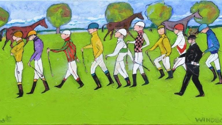 Elie Lambert's painting 'Windsor'