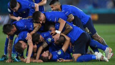 Impressive Italy should be celebrating a third straight win in Group A