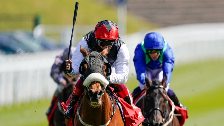 Frankie Dettori took his first Chester Cup in 30 years with Falcon Eight last month